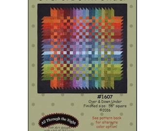 Over & Down Under Flannel Quilt Pattern All Through the Night Bonnie Sullivan