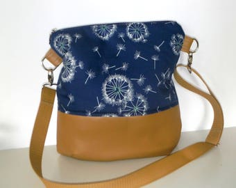 Shoulder bag of shoulder bag flower