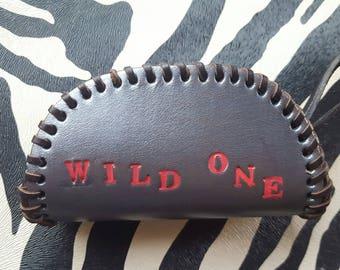 Wild One Real Leather Mini Purse