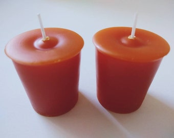 Campfire Votive Candles | Hand Poured & Highly Scented | Sets of 2 or 4 | Smoky Fireplace Scent