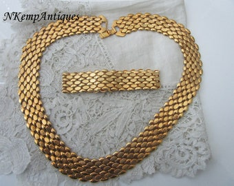 Vintage necklace and bracelet