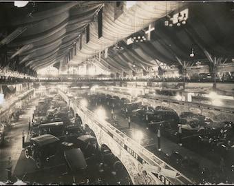 Car Show, Chicago, Illinois, Coliseum, Early 1900's, 1907, Autos Photo Print