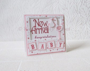 Baby Congratulations, New Arrival Card