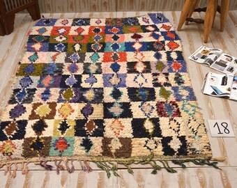 vintage tribal berber rug azilal 4x6 vintage azilal moroccan vintage kilim rug handmade beautiful authentic
