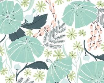 1/2 yard PERCH by Rae Ritchie for Dear Stella Perch Floral Multi