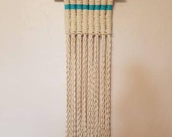 Macrame Vertical Clove Hitch Wall Hanging