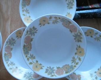 Vintage Noritake Progression China SUNNY SIDE Berry  Bowls--- Set of 4