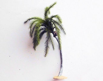 Coconut Palm 12 inches loaded with coconuts