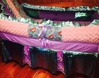 FLASHSALE NOW***Little Mermaid crib bedding set