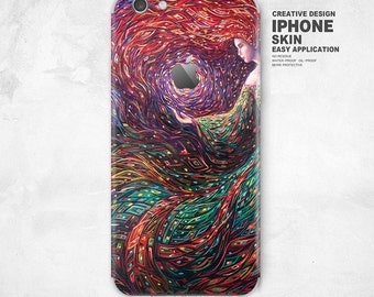 iPhone Skin Decal Sticker - for iPhone 6S, 6S Plus, 6, 6 Plus, 5, 5S