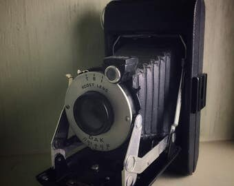 Kodak Vigilant Junior Six-16 Folding Camera, Gift for Camera Collector, Industrial Hipster Home Decor