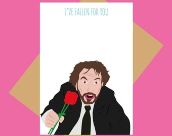 Die Hard Valentineu0027s Day Card   Hans Gruber   Iu0027ve Fallen For You