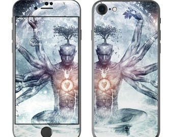 The Dreamer by Cameron Gray - iPhone 7/7 Plus Skin - Sticker Decal