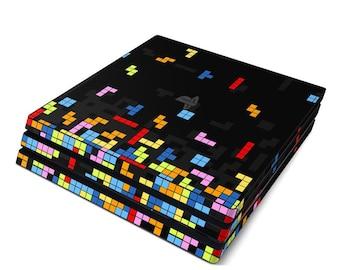 Sony PS4 Pro Skin Kit - Tetrads - Sticker Decal Wrap
