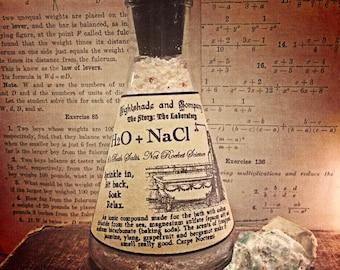 H2O + NaCl Bath Salts - The Story: the Laboratory