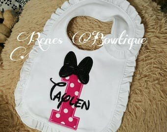 Custom Ruffled Bib