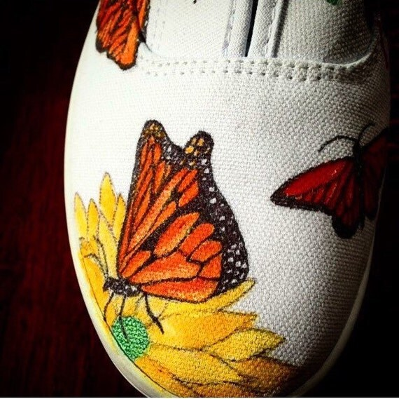 Step into a Butterly Garden