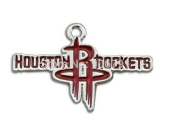 Houston Rockets Logo Charm-Qty:1
