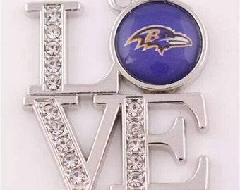 Baltimore Ravens Charm-Qty:1
