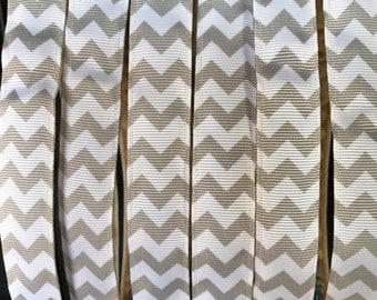 Grey Chevron Blitzy Band, Non-SLIP Adjustable Headband, Nonslip headband, hair band, blitzy band