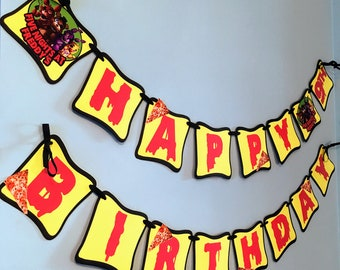 Five Nights at Freddy's, five nights of freddys banner, five nights at freddy's birthday party.