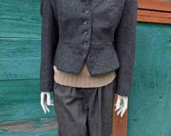 Vintage J Peterman Tweed Jacket