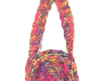 Handmade Crocheted Bag Purse