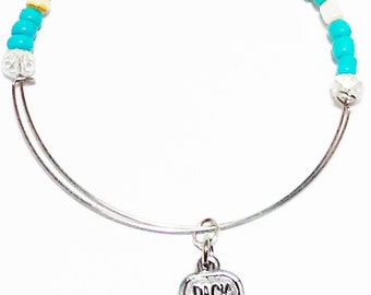 PACK YOUR BAGS - Expandable Bracelet, Affirmation Jewelry, Cause Jewelry, Benefits Homeless Mothers of Atlanta