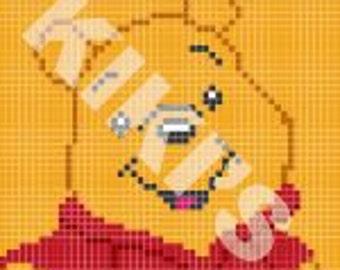 C2C Crochet Winnie the Pooh Pattern (*PATTERN ONLY*)