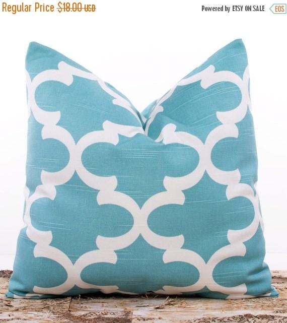 Muted Blue Throw Pillows : SALE ENDS SOON Teal Throw Pillow Covers Spirit Blue Pillows