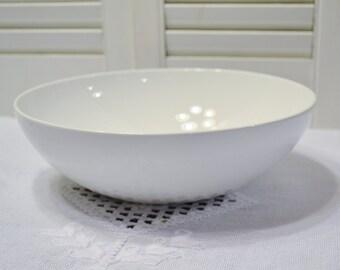 Vintage Corning Centura White Serving Bowl Early Corning Ware Mid Century Modern Kitchen PanchosPorch