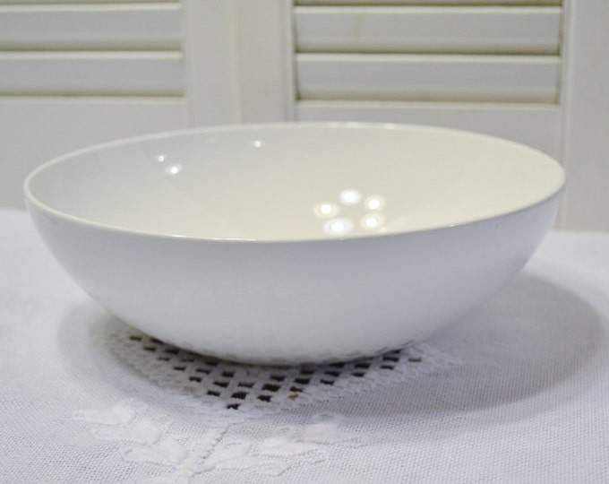 Vintage Corning Centura White Serving Bowl Early Corning Ware Mid Century Modern Kitchen PanchosPorch