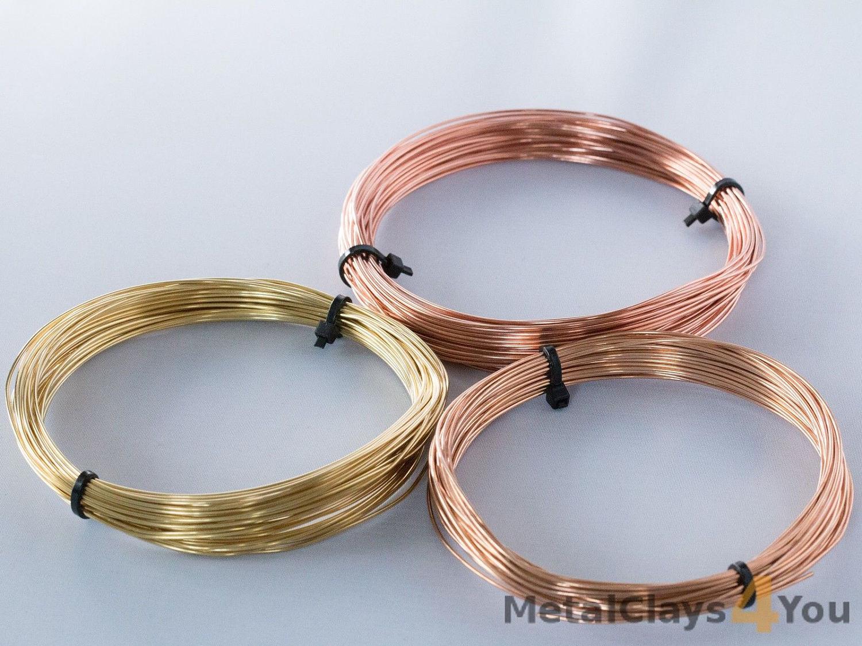 Copper Wire Bundle : Unplated wires bundle bronze copper and brass