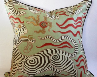 Clarence House Tibet Pillow Cover