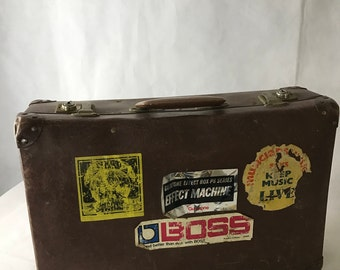 1940's Well Travelled Brown Case
