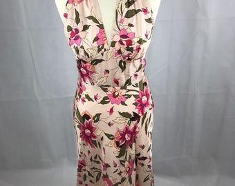 50's Style Halter Neck Dress