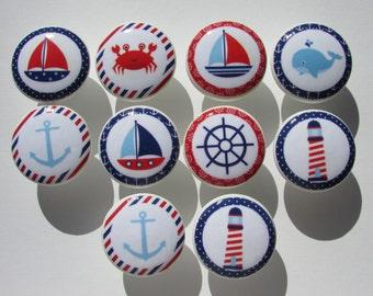 Nautical Dresser Drawer Knobs Set of 10