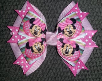 Minnie Mouse Handmade Boutique Bow