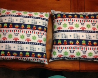 Minion Christmas Pillow Covers 16 x 16 inch