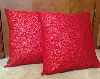 Decorative Pillow Covers 16 x 16 inch