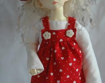 YoSD Red overdress set.