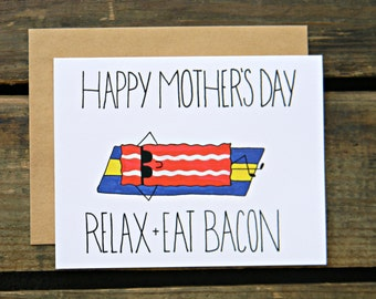Mother's Day Bacon Card