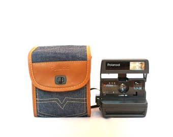 Polaroid 636 - Limited Edition with Jeans bag - Includes transport bag and original instructions book