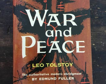 War and Peace by Leo Tolstoy / 1964 Dell Laurel Edition / Sixth Printing / Paperback