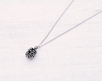 Forest necklace pine cone