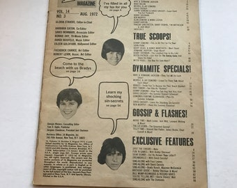 Vintage 1972 16 Magazine Vol 14/No 3, Missing Cover