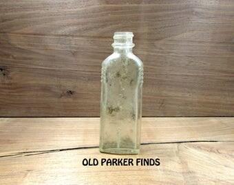 Antique Bottle. Old Bottle, Vintage Bottle