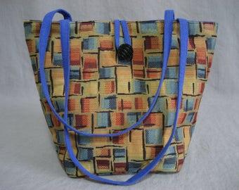 Bright Multi Hued Project Bag
