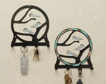 Chickadee Key Rack
