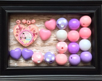 Chunky Beads Necklace Kit w/Pendent